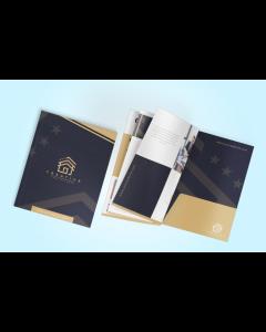 9x12 Booklet Pocket Folders