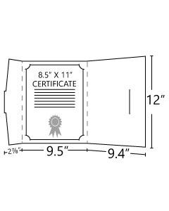 Tuck Tab Certificate Folders