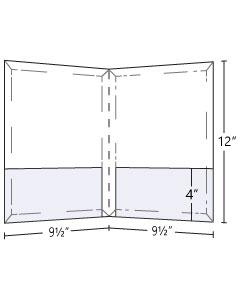 9.5x12 Expandable Pocket Folder