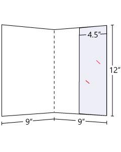 Lateral Pocket 4.5 inch Pocket Folder