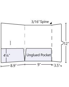 9x12 Right Tuck Tab Pocket Folder