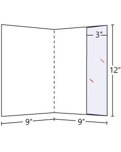 Lateral Pocket Folder 3 inch Pocket