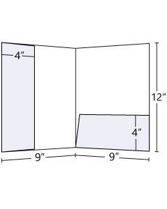 9x12 Left Lateral + Horizontal Pocket Folder