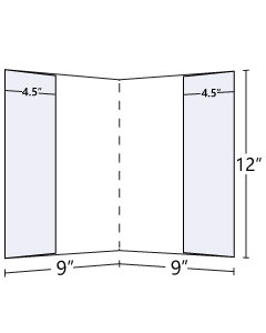 9x12 Double Lateral Pocket Folder