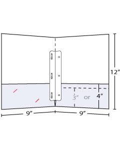 3 Prong Insert (Duotang)