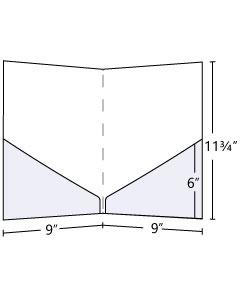 9x12 Pocket Folder with 6 inch pockets