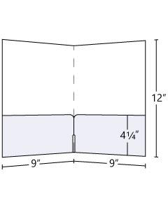 9x12 Continuous Horizontal Pocket Folder