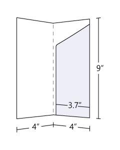 4x9 vertical Pocket Folders