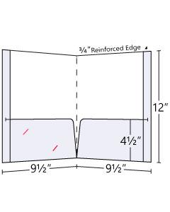 Reinforced Pocket Folder