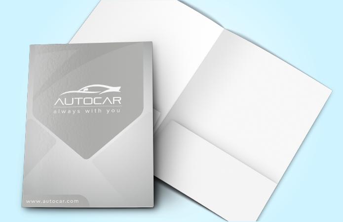 Pocket Folder Standard 100lb Uncoated Cover